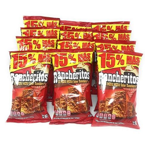 "Rancheritos ""sabritas""  60gr"
